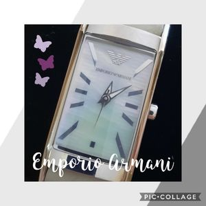EMPORIO ARMANI Mother of Pearl Watch